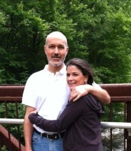 Eric & Sarah mountain stream