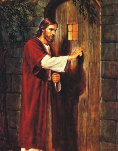Jesus knocking at the door 1